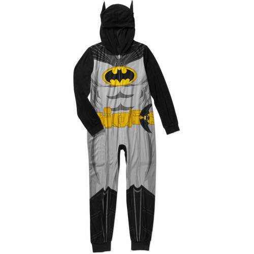 Boys Licensed Hooded Pajama Onesie Union Suit, Available in 8 Characters.