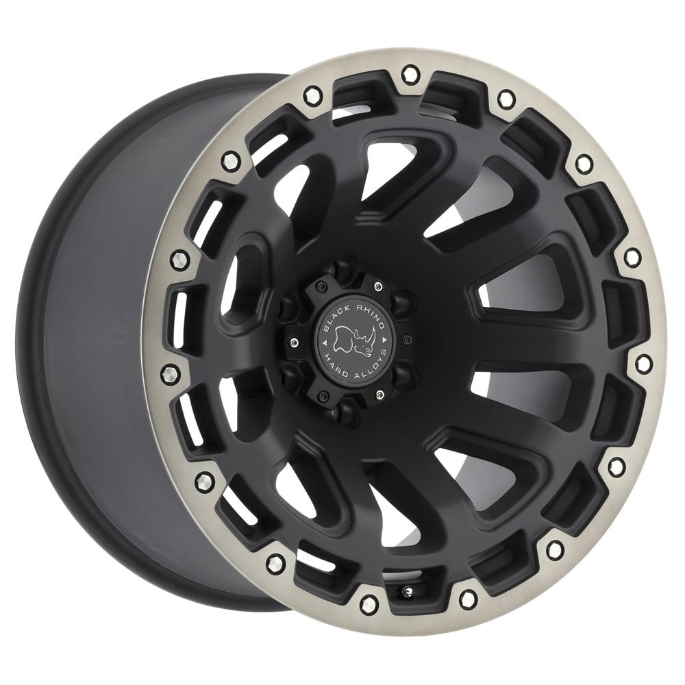 "Black Rhino Razorback 20x9 5x127 (5x5"") -12mm Black/Machined/Tint Wheel Rim"