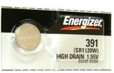 Energizer 391 381 SR1120 Silver Oxide Button Battery 1.55V 5 Pack + 30% Off! by