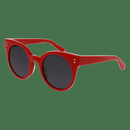 e9d8553f650 Stella-McCartney SK0018S Sunglass 48mm RED - Walmart.com