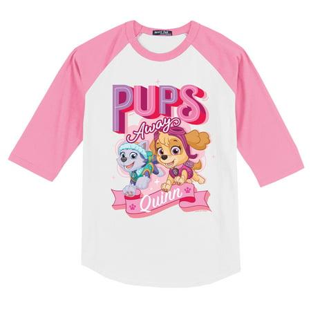 Cw Jersey - PAW Patrol Pink Pups Sports Jersey