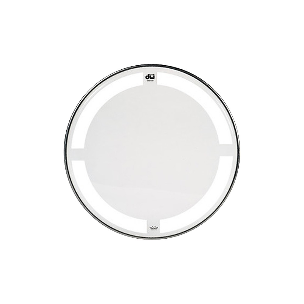 DW Coated Clear Tom Batter Drumhead 18 in. by DW
