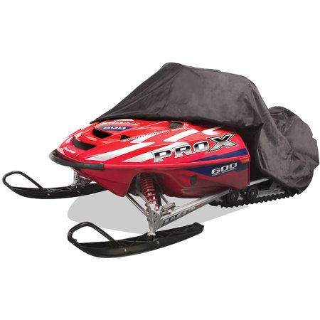 Budge Waterproof Snowmobile Cover, Outdoor Use, Black Polyester
