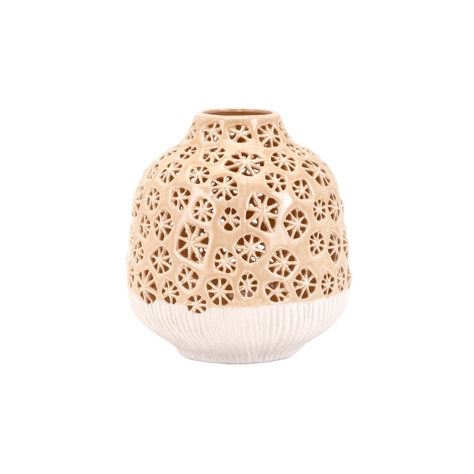 IMAX Lynna Small Cutwork Vase