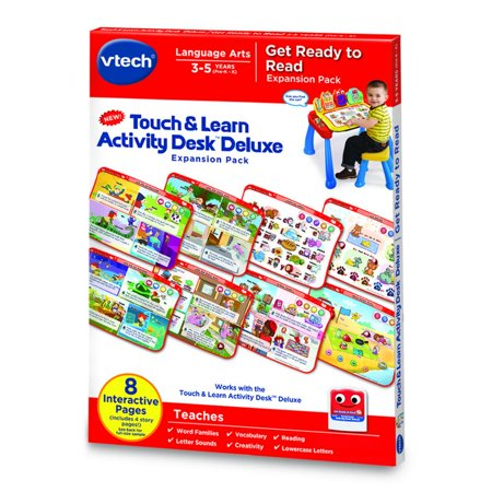 Touch   Learn Activity Desk  Deluxe   Get Ready To Read