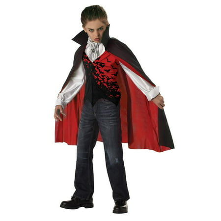 Prince Of Darkness Dracula Vampire Child Costume
