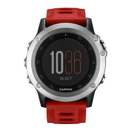 Garmin 010-01338-15 Fenix[r] 3 Performance Watch [silver]