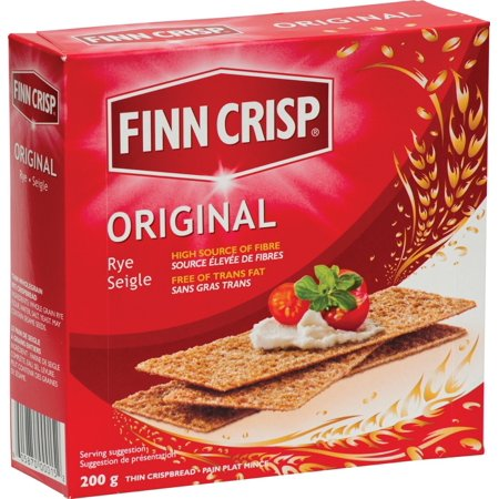 Finn Crisp Original, Delicately Thin Rye Crispbread, 7 Ounce Boxes