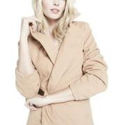 Women Cardigan Woolen Outerwear Long Sleeve Coat