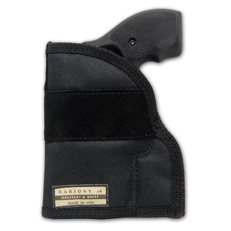 Barsony Ambidextrous Draw Pocket Gun Holster Size 2 Charter Arms Rossi Ruger LCR S&W  .22 .38 .357 (Best Holster For Ruger P95)