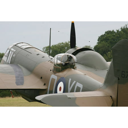 Canvas Print Bomber Blenheim Aircraft Ww2 Stretched Canvas 10 x