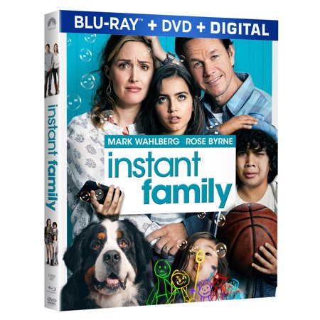 Instant Family (Blu-ray + DVD + Digital Copy)