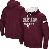 Texas A&M Aggies Colosseum Performance Pullover Hoodie - Maroon