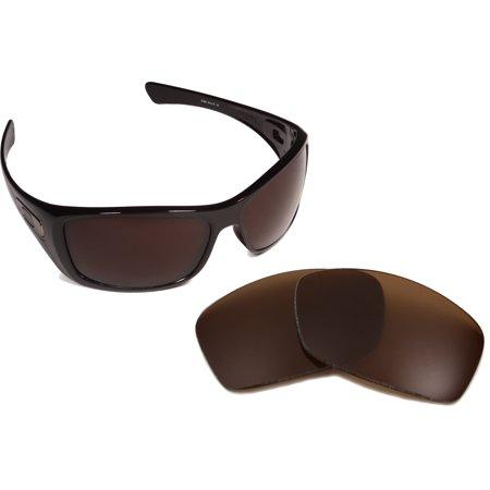 valtava inventaario melko mukava ilmainen toimitus Best SEEK OPTICS Replacement Lenses for Oakley Sunglasses HIJINX Bronze  Brown