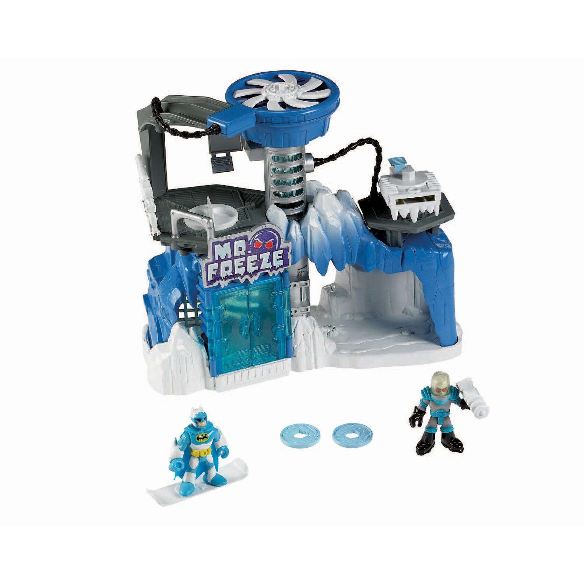 Imaginext DC Super Friends Exclusive Playset Mr. Freeze ...