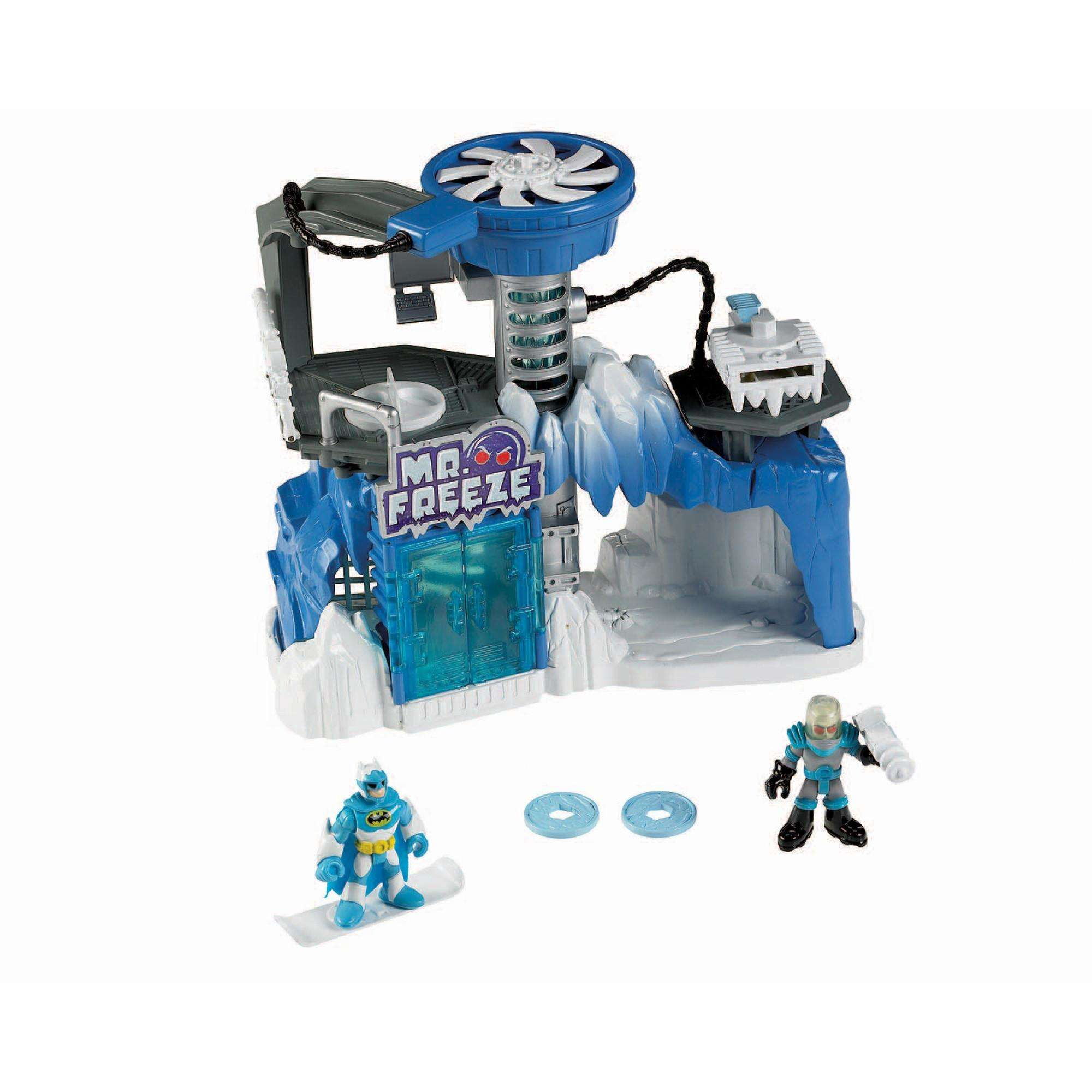 Imaginext DC Super Friends Exclusive Playset Mr. Freeze Headquarters