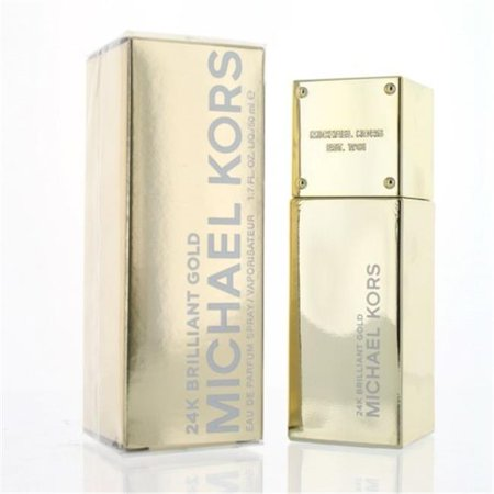 Michael Kors WMICHAELKORSBRG24K17 1.7 oz Womens 24K Brilliant Gold Eau De Parfum Spray