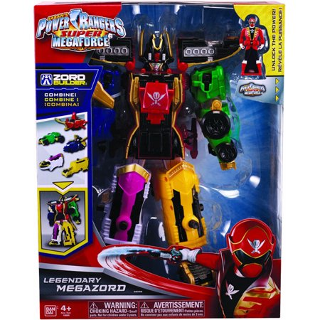 Power Rangers Super Megaforce - Legendary (Power Rangers Super Megaforce Legendary Megazord Figure)