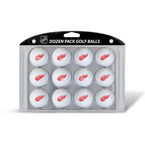 Team Golf NHL Detroit Red Wings Golf Balls, 12 Pack