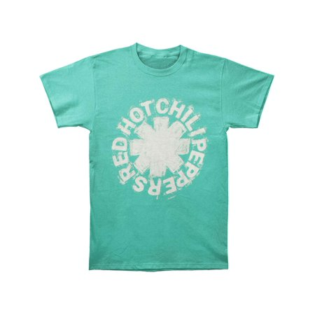 Red Hot Chili Peppers Men's  Sketch Asterisk T-shirt Green](Hot Greek Men)