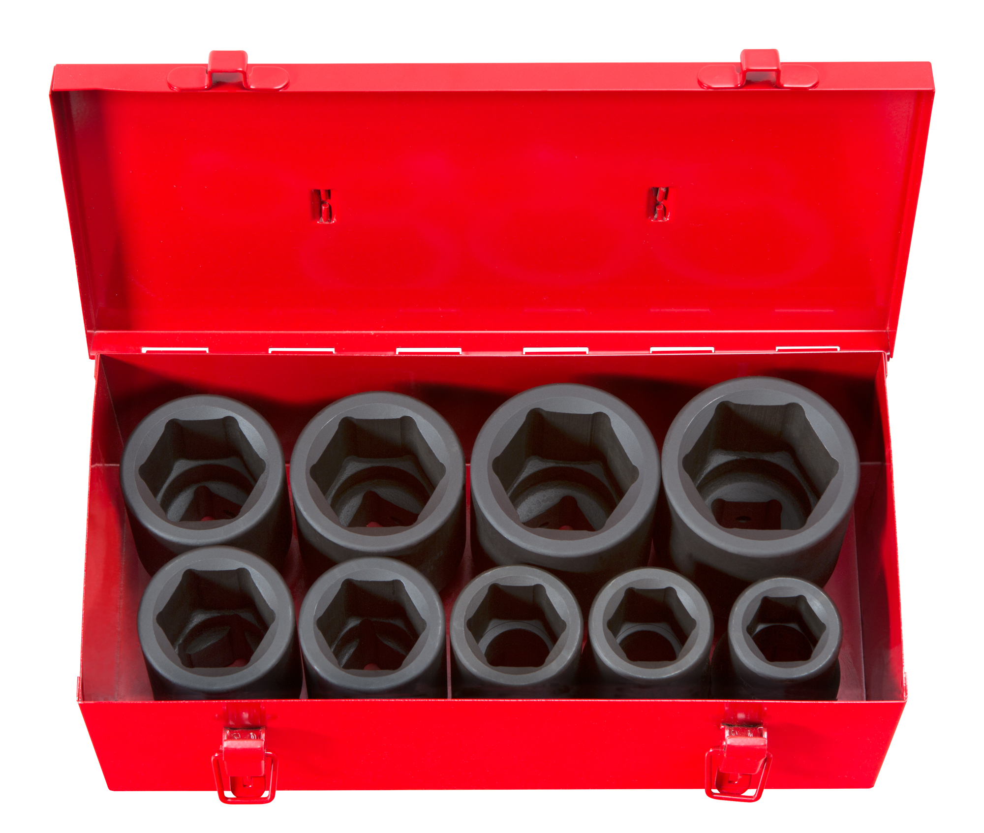 TEKTON 1-Inch Drive Deep Impact Socket Set, Inch, Cr-Mo, 6-Point, 1-Inch 2-Inch, 9-Sockets... by TEKTON