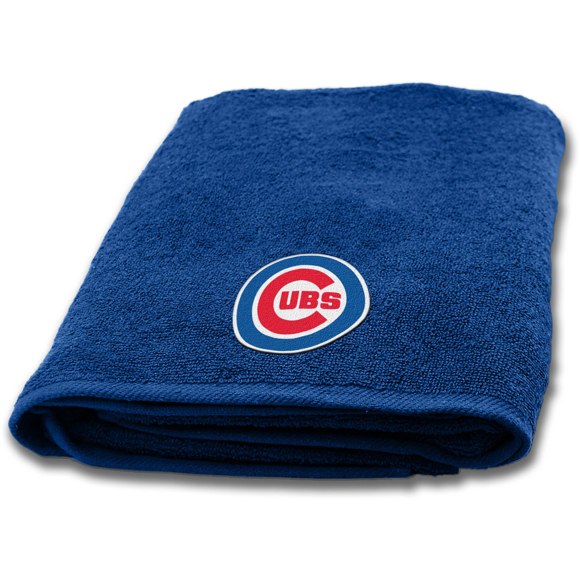 """MLB Chicago Cubs 25""""x50"""" Applique Bath Towel by The Northwest Company"""