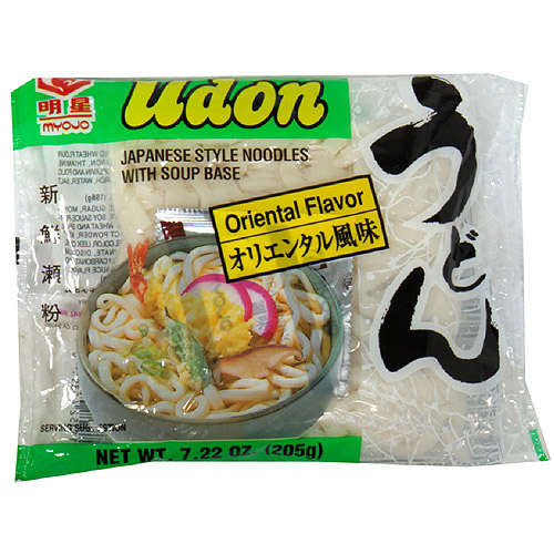 Myojo Udon Japanese Style Oriental Flavor Noodles With Soup Base, 7.22 oz (Pack of 30)
