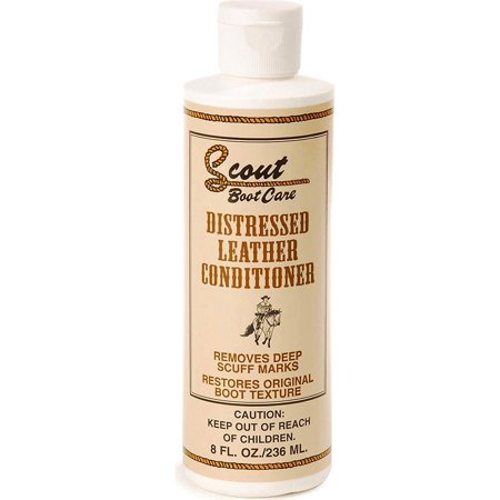 Unisex Distressed Leather Conditioner Natural One Size By SCOUT