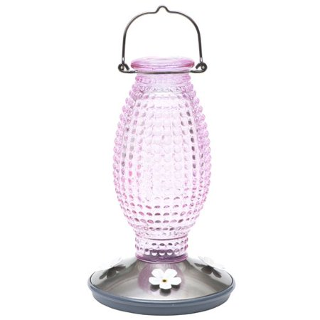 Woodstream Perky Pet Vintage Glass Hummingbird (Woodstream Glass Feeder)