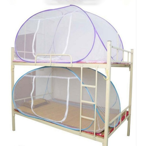 Mosquito Net For Bed Pink Blue Purple Student Bunk Bed Net Mesh Cheap Price Adult Double Bed Netting Tent Mosquito Walmart Com Walmart Com