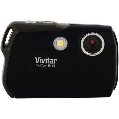 Vivitar Black V5119-BLK 5MP Digital Camera with 5.1 Megapixels