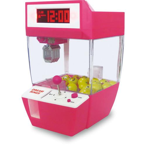 Modern Home Crane Game Alarm Clock - Pink