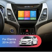 For 2014-16 Hyundai Elantra Car Radio Head Unit 9'' Android 9.1 GPS Navigation Touch Screen Phone Mirror Link
