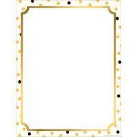 Barker Creek Computer Paper (100 sheets)- Gold Computer Paper (BC3624)