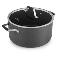 Calphalon Select Hard Anodized 7 Quart Non-Stick Stock Pot with Cover