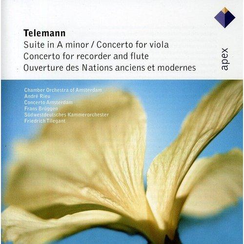 Telemann: Suite In A Major / Vla Cto