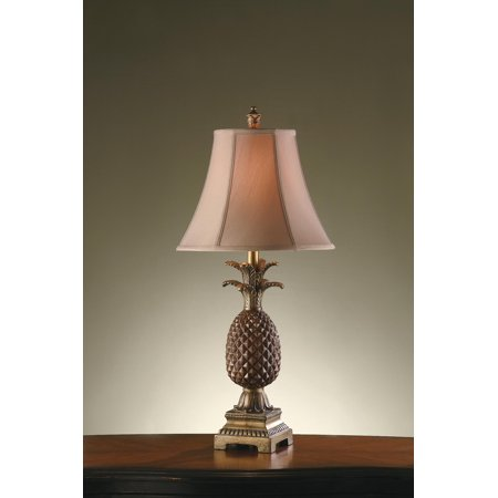 Palm Coast 29-Inch Table Lamp, Tropic Brown and Gold ()