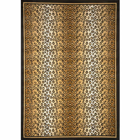Home Dynamix Zone Collection 7117-502 Area Rug, Ebony