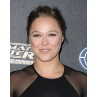 Ronda Rousey At Arrivals For The Ultimate Fighter Premiere Stretched Canvas -  (8 x 10)