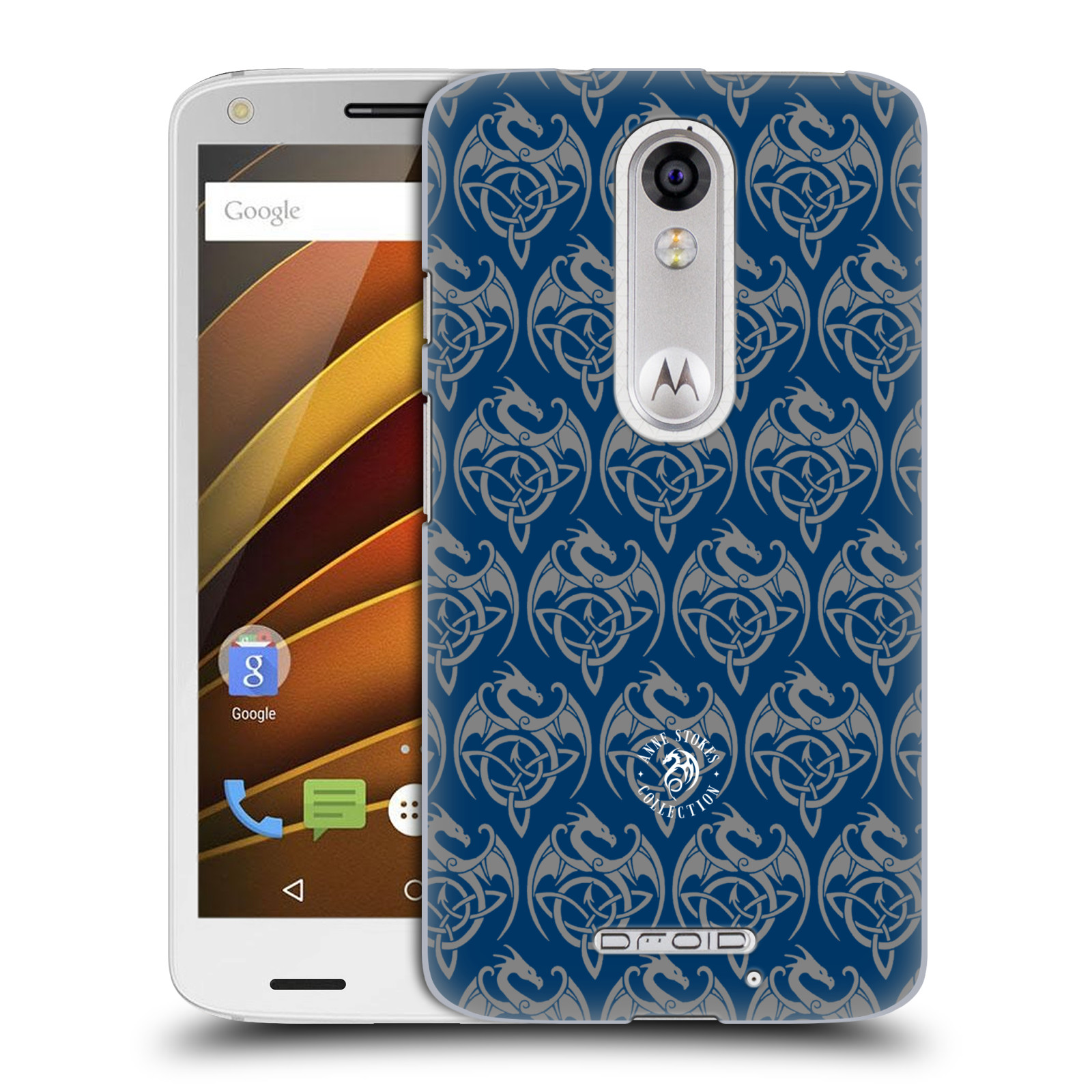 OFFICIAL ANNE STOKES MOTIF PATTERNS HARD BACK CASE FOR MOTOROLA PHONES 1