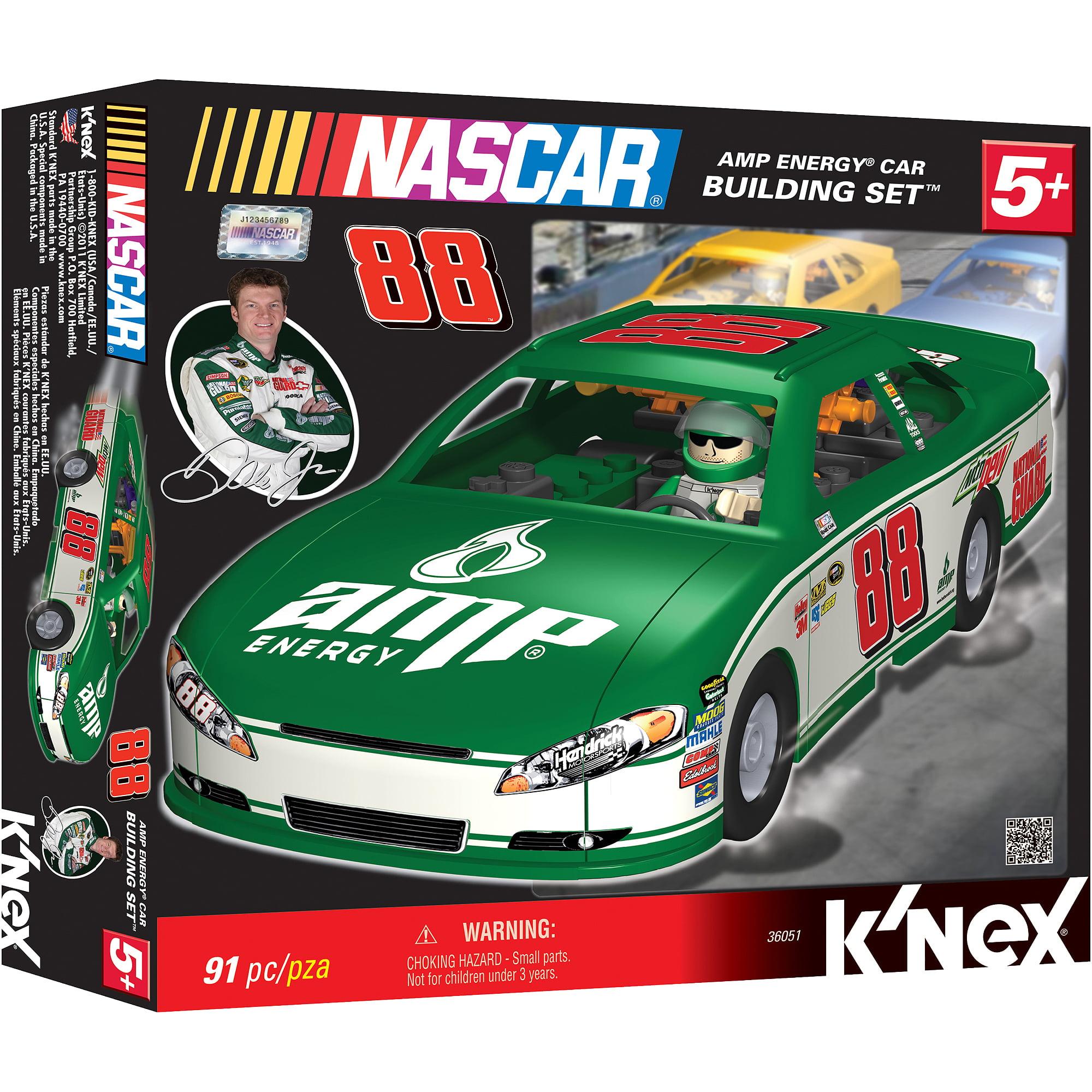 K'NEX Nascar Building Set: Dale Earnhardt Jr.'s #88 Amp Energy Car