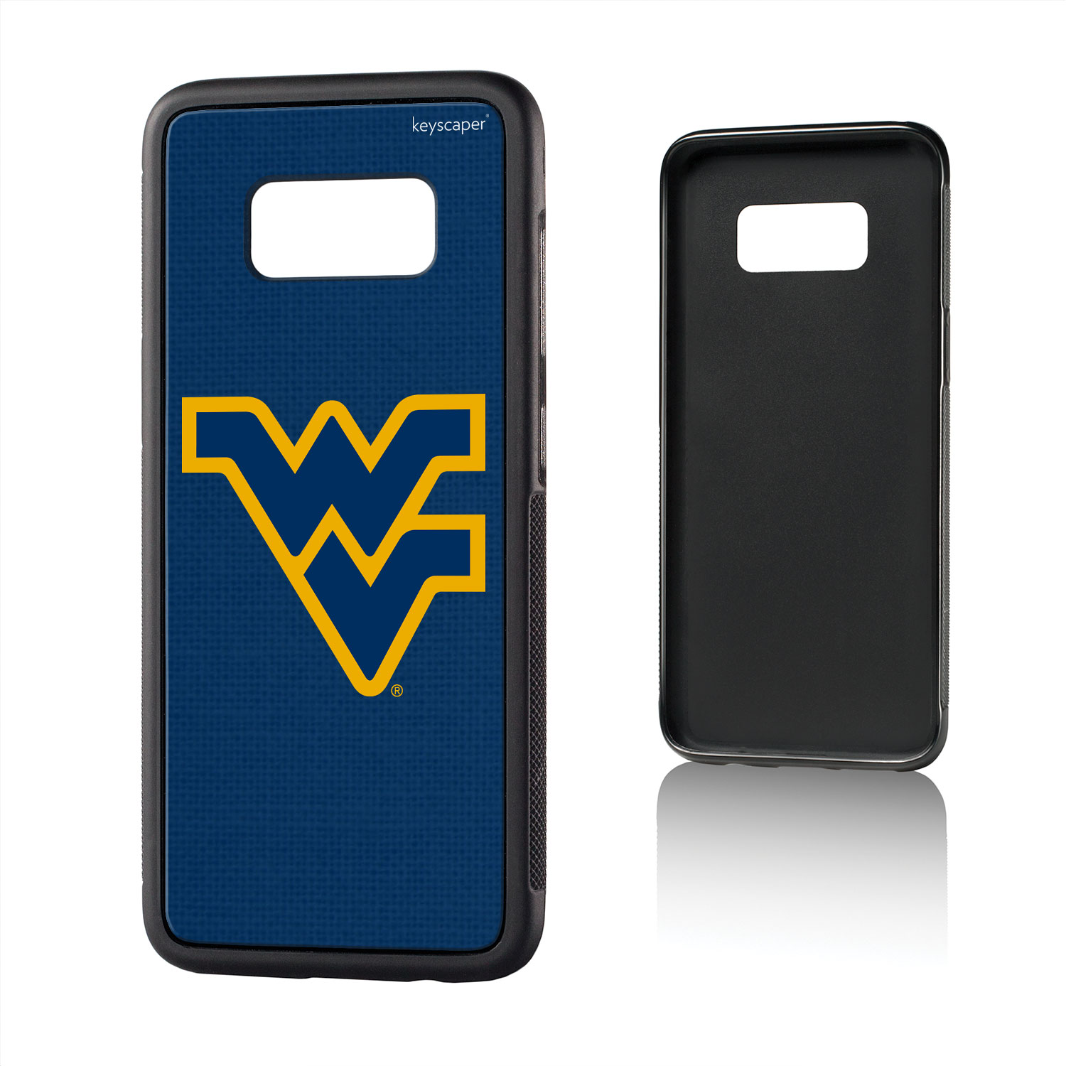 WVU West Virginia Mountaineers Solid Bump Case for Galaxy S8