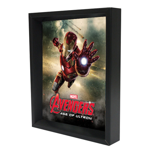 Pyramid America 'Iron Man - Age of Ultron' 3D Framed Graphic Art on Wrapped Canvas