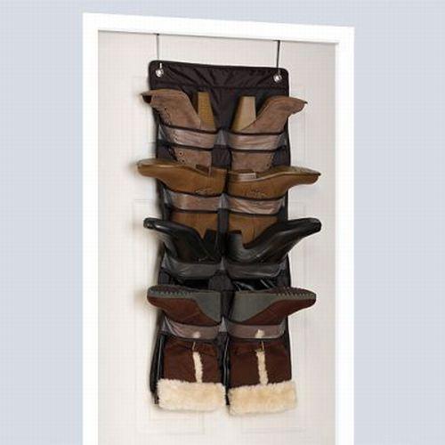 the door hanging boot shoe storage mix match closet