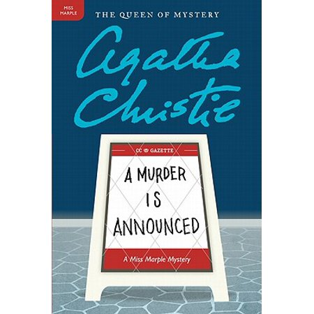 A Murder Is Announced : A Miss Marple Mystery - Halloween Murder Mysteries