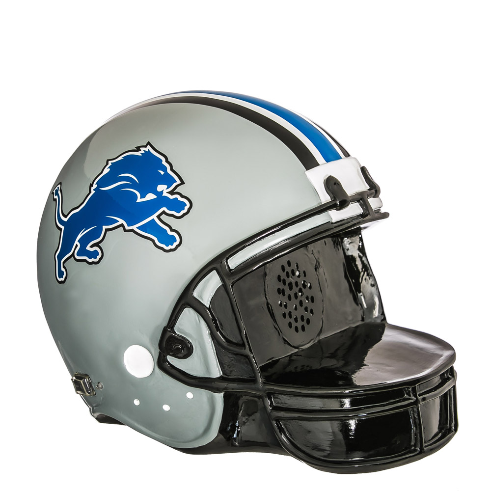 Detroit Lions Helmet Bluetooth Speaker