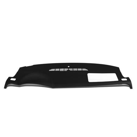 For 2007 to 2014 Chevy Tahoe Suburban Silverado GMC Yukon XL 1500 2500 Sierra Dash Board Skin Cap Cover Overlay Black 08 09 10 11 12 13
