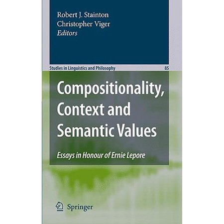 The Syntax/Semantics Interface: Compositionality Issues