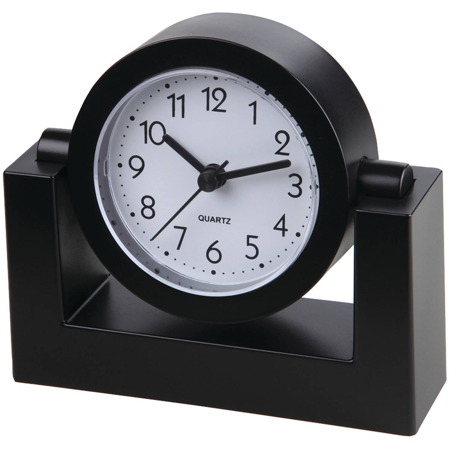 Clocks walmart desk and tabletop clocks amipublicfo Choice Image