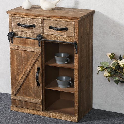 Loon Peak Deshmukh 2 Drawer Accent Cabinet
